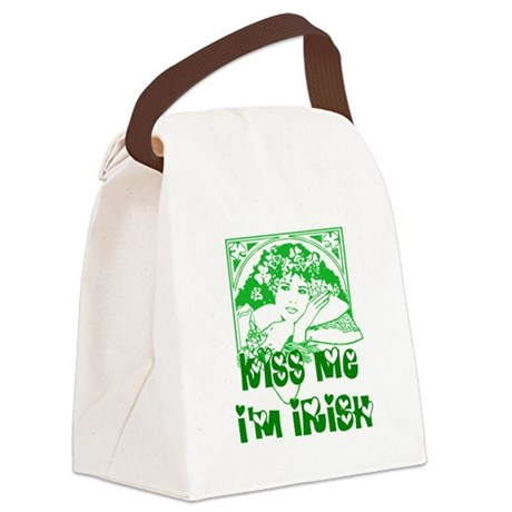 irishgirl2.png Canvas Lunch Bag