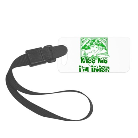 irishgirl2.png Small Luggage Tag