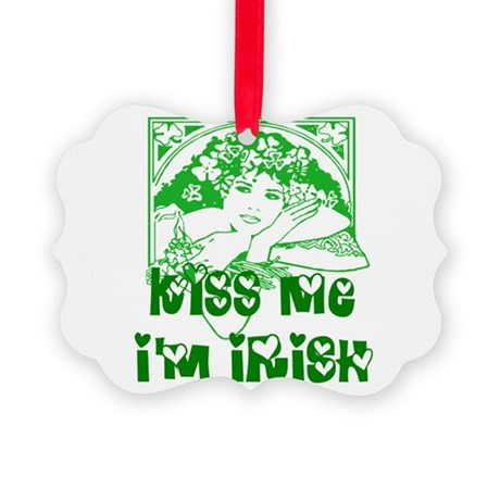 irishgirl2.png Picture Ornament