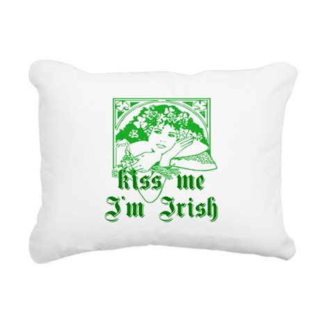 irishgirl2a.png Rectangular Canvas Pillow