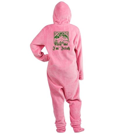 irishgirl2a.png Footed Pajamas