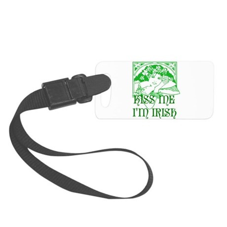 irishgirl2b.png Small Luggage Tag