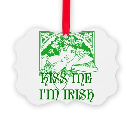 irishgirl2b.png Picture Ornament