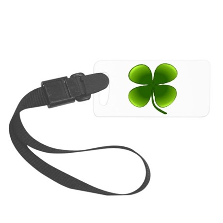 four leaf clover Small Luggage Tag