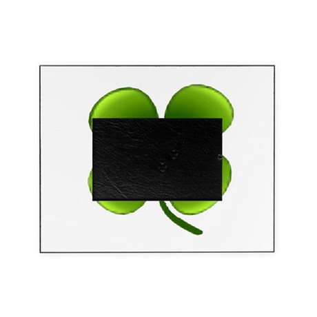 four leaf clover Picture Frame