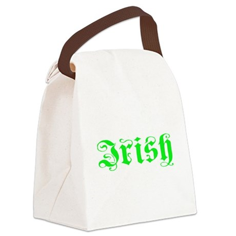 irish Canvas Lunch Bag