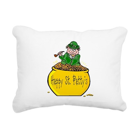 Pot of Gold Rectangular Canvas Pillow