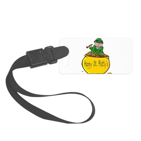 Pot of Gold Small Luggage Tag