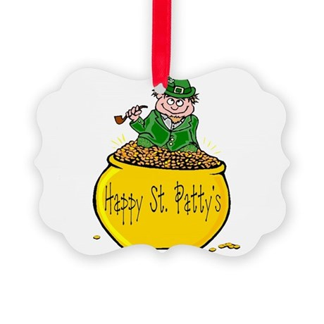 Pot of Gold Picture Ornament