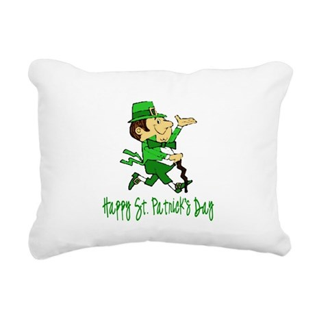 leprechaun Rectangular Canvas Pillow