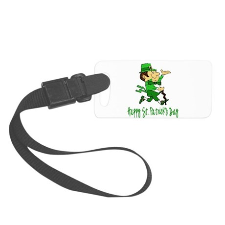 leprechaun Small Luggage Tag