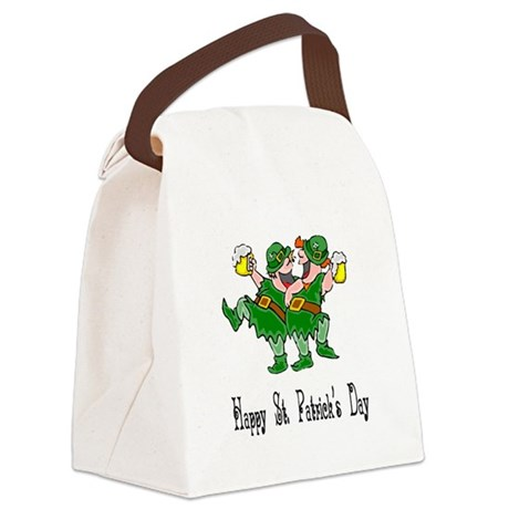 leprechauns Canvas Lunch Bag