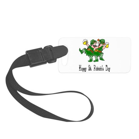 leprechauns Small Luggage Tag