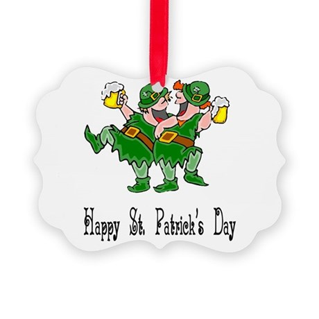 leprechauns Picture Ornament