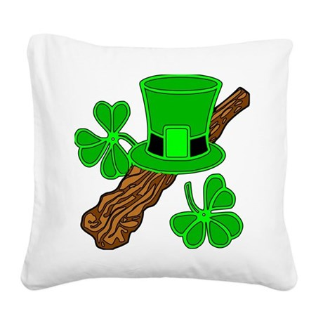 shillelagh2a.png Square Canvas Pillow