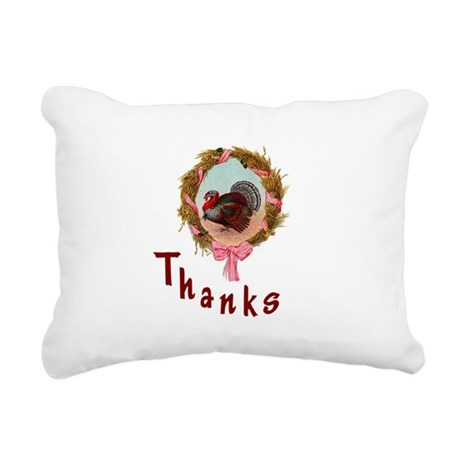 turkey1a.png Rectangular Canvas Pillow