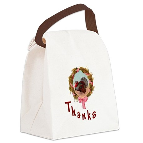 turkey1a.png Canvas Lunch Bag