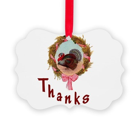 turkey1a.png Picture Ornament