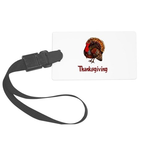 turkey2b.png Large Luggage Tag