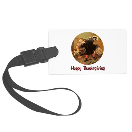 turkey3b.png Large Luggage Tag