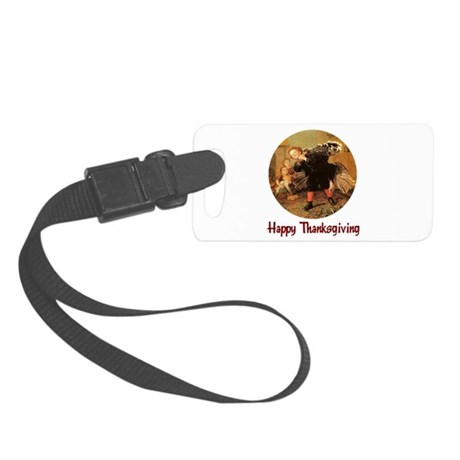 turkey3b.png Small Luggage Tag