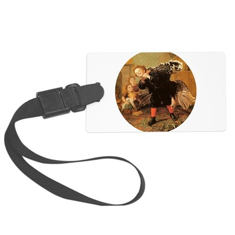 3-turkey3.png Large Luggage Tag