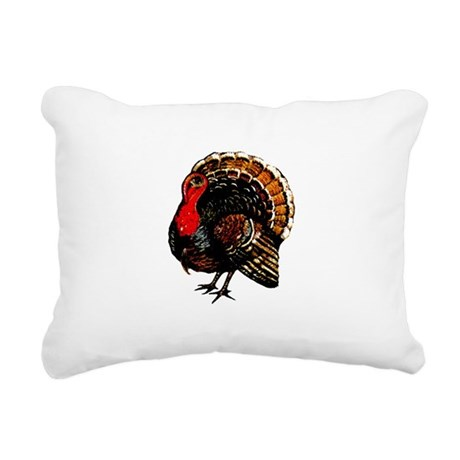 turkey2a.png Rectangular Canvas Pillow
