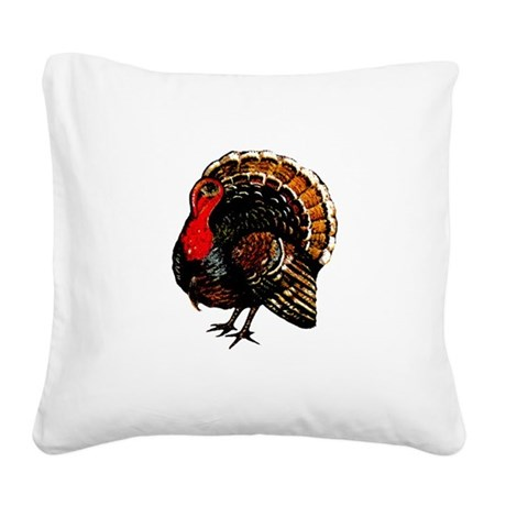 turkey2a.png Square Canvas Pillow