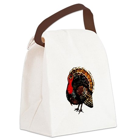 turkey2a.png Canvas Lunch Bag