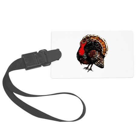 turkey2a.png Large Luggage Tag