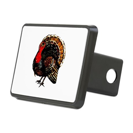 turkey2a.png Rectangular Hitch Cover