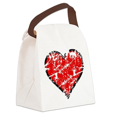 heart6a.png Canvas Lunch Bag
