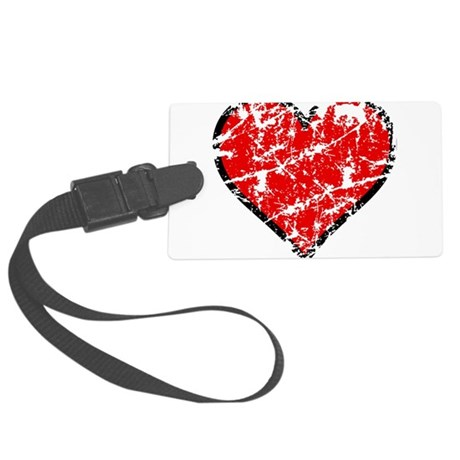 heart6a.png Large Luggage Tag