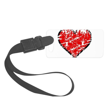 heart6a.png Small Luggage Tag