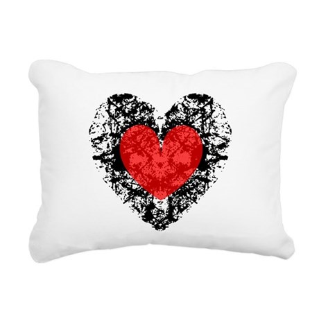 heart9a2.png Rectangular Canvas Pillow