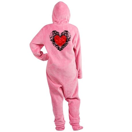 heart9a2.png Footed Pajamas