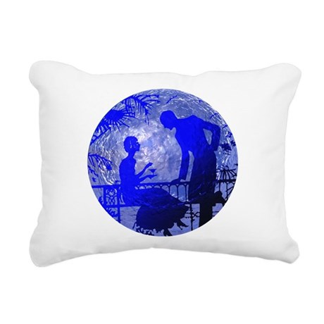 Moonlightlove.jpg Rectangular Canvas Pillow
