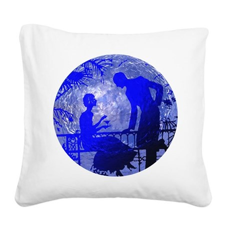 Moonlightlove.jpg Square Canvas Pillow