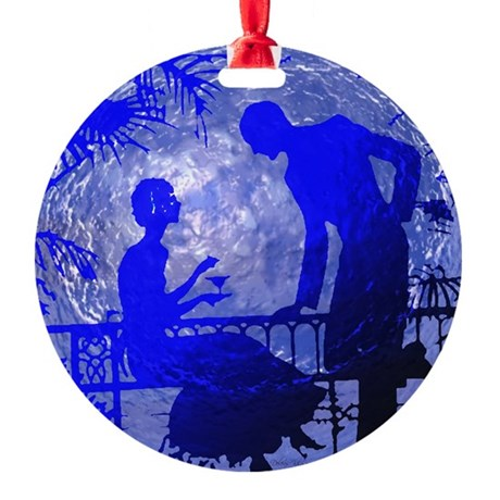 Moonlightlove.jpg Round Ornament