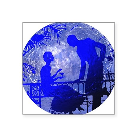 "Moonlightlove.jpg Square Sticker 3"" x 3"""