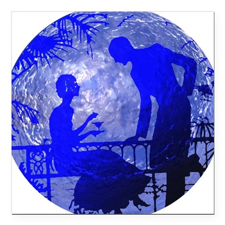 "Moonlightlove.jpg Square Car Magnet 3"" x 3"""