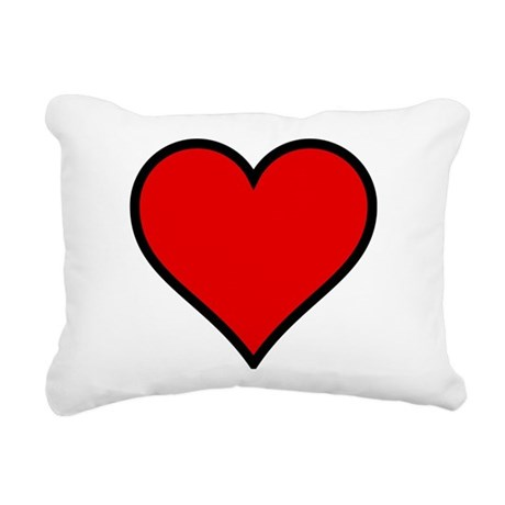 heart6.png Rectangular Canvas Pillow
