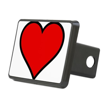 heart6.png Rectangular Hitch Cover