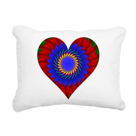 0004bheart.png Rectangular Canvas Pillow