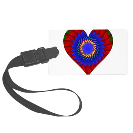 0004bheart.png Large Luggage Tag