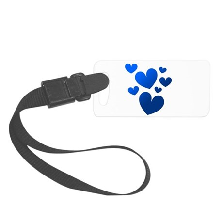 hearts5c.png Small Luggage Tag