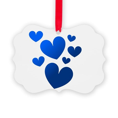 hearts5c.png Picture Ornament