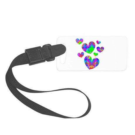 hearts5a.png Small Luggage Tag