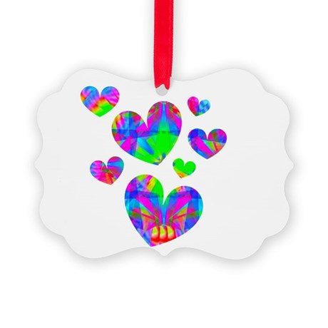 hearts5a.png Picture Ornament