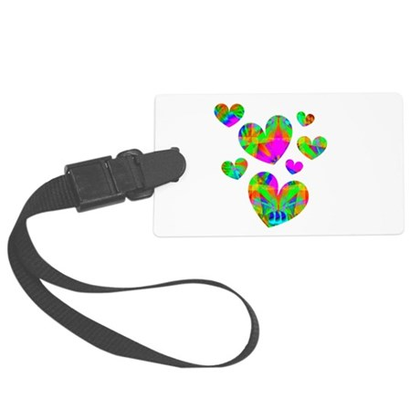hearts5.png Large Luggage Tag
